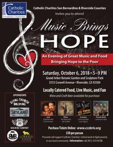 Music Brings Hope 10.2018 Flyer